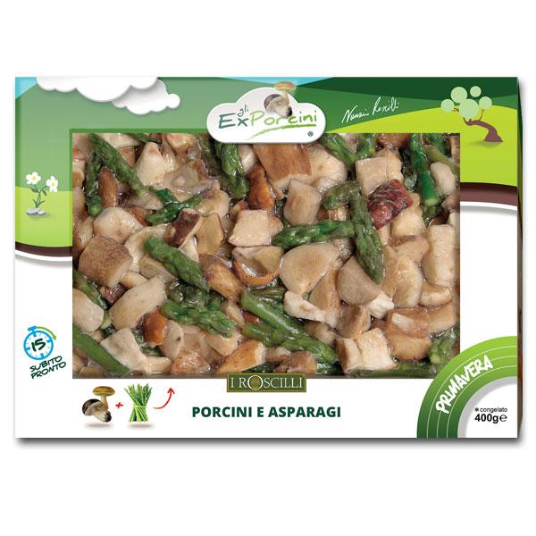 Primavera - 400gr - Funghi Porcini e Asparagi