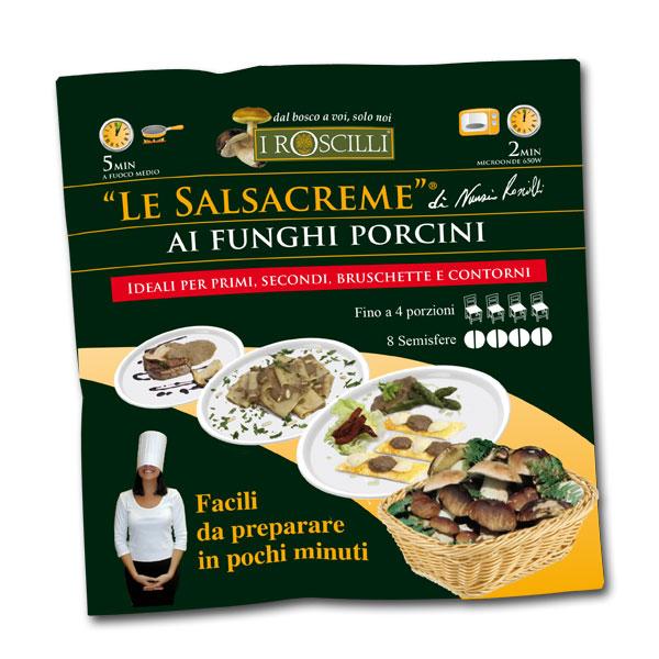 Le Salsacreme ai funghi porcini