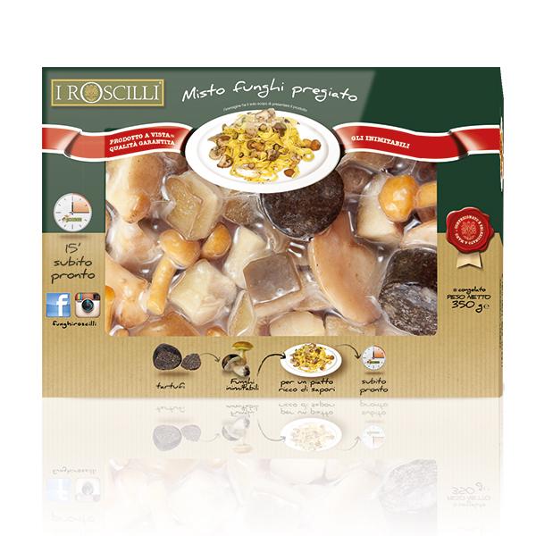 Misto Funghi Pregiato - Funghi e tartufo