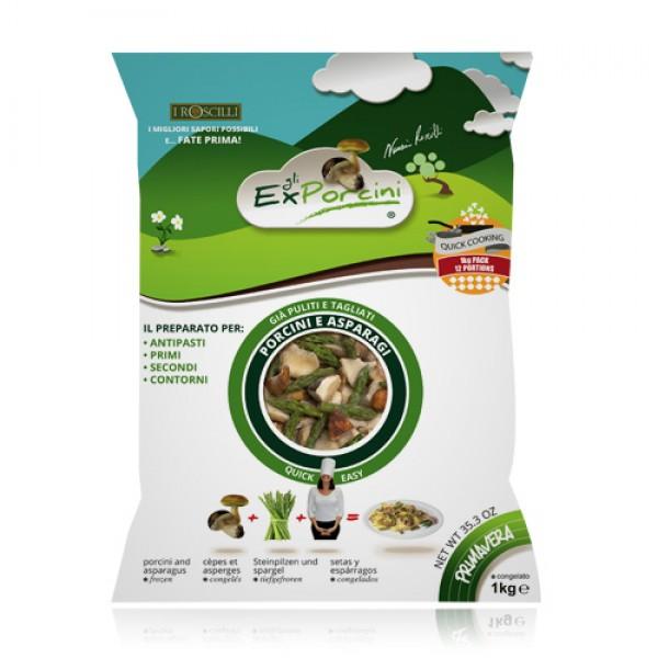 Primavera - Funghi Porcini e Asparagi